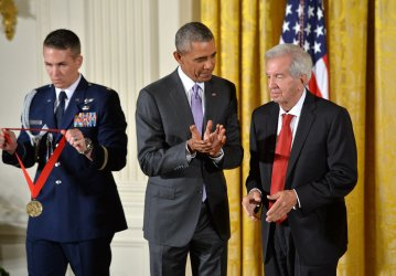 President Obama awards the 2014 National Medal of the Arts and National Humanities Medal in Washington, D.C.