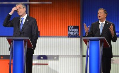 GOP presidential candidates attend debate in Des Moines, Iowa