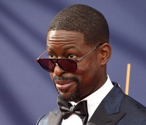 Sterling K. Brown attends the Creative Arts Emmy Awards in Los Angeles