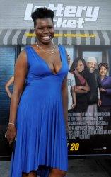 "Leslie Jones attends the ""Lottery Ticket"" premiere in Los Angeles"