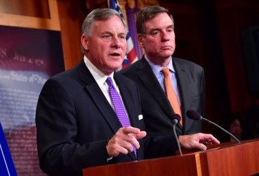 Senate Intelligence Committee delivers an update on their Russia Investigation in Washington, D.C.