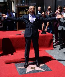 Giancarlo Esposito honored with star on Hollywood Walk of Fame in Los Angeles