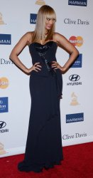 Tyra Banks attends the Clive Davis pre-Grammy party in Beverly Hills, California
