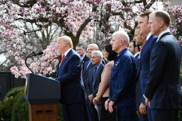 President Trump declares a national emergency due to Coronavirus
