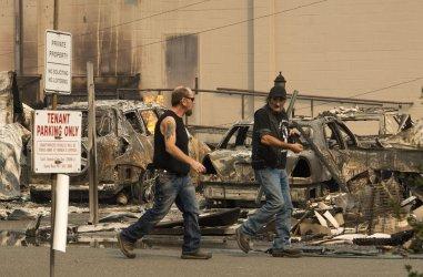 Wild Fires devastate Sonoma County