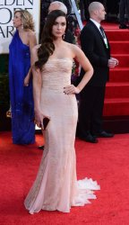 Megan Fox attends the 70th annual Golden Globe Awards in Beverly Hills, California
