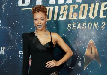 Sonequa Martin-Green at the 'Star Trek: Discovery' premiere
