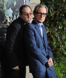 "John Kassir and Bill Nighy attend ""Jack the Giant Slayer"" premiere in Los Angeles"
