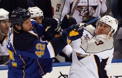 Nashville Predators vs St. Louis Blues