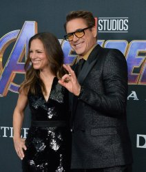 "Robert Downey Jr. and Susan Downey attend ""Avengers: Endgame"" premiere in Los Angeles"