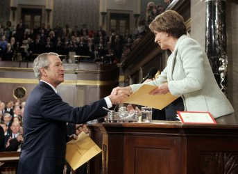 U.S. PRESIDENT GEORGE W. BUSH DELIVERS 2007 STATE OF THE UNION ADDRESS
