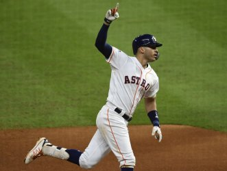 Astros Correa hits walk off homer in ALCS in Houston