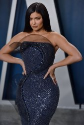 Kylie Jenner attends Vanity Fair Oscar party 2020