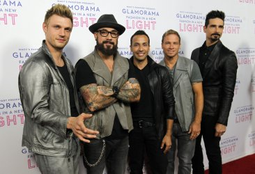 THE BACKSTREET BOYS BAND ATTEND MACY'S PASSPORT PRESENTS: GLAMORAMA 2013 IN LOS ANGELES