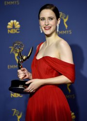 Rachel Brosnahan wins award at the 70th Primetime Emmy Awards in Los Angeles