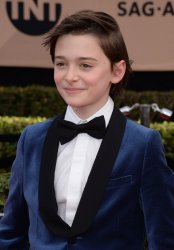 Noah Schnapp attends the 23rd annual SAG Awards in Los Angeles