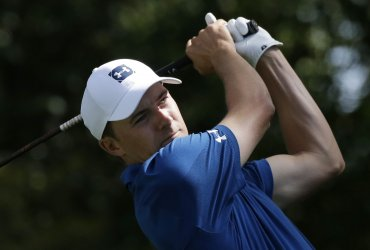 Jordan Spieth at the 2018 Masters in Augusta