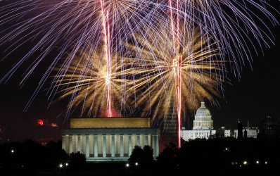 Independence Day Fireworks in Washington