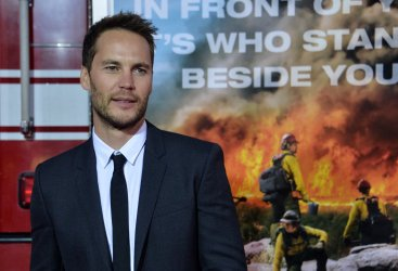 "Taylor Kitsch attends ""Only the Brave"" premiere in Los Angeles"