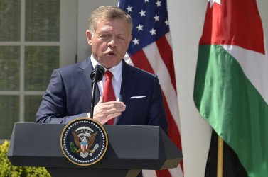 President Trump and King Abdullah II hold a news conference at the White House