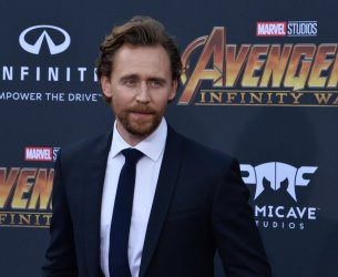 """Tom Hiddleston atends the """"Avengers: Infinity Wars"""" premiere in Los Angeles"""