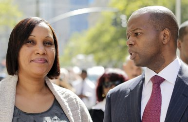 Nafissatou Diallo and Attorney Kenneth P. Thompson Meet With Prosecutors in New York