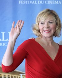 Kim Cattrall arrives at American Film Festival in Deauville