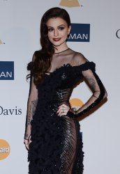 Cher Lloyd attends the Clive Davis pre-Grammy party in Beverly Hills, California