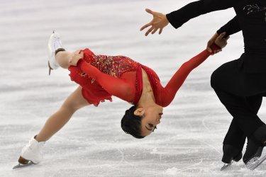 Pairs Figure Skating Free Skating at the Pyeongchang 2018 Winter Olympics