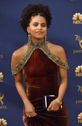 Zazie Beetz attends the 70th annual Primetime Emmy Awards in Los Angeles