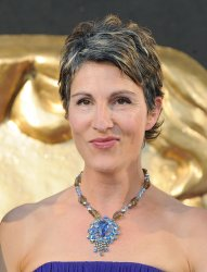 """Tamsin Greig attends the """"Arqiva British Academy Television Awards"""" in London."""