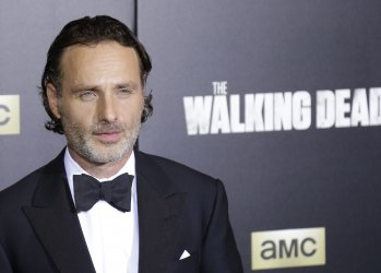 Andrew Lincoln arrives at The Walking Dead' Premiere