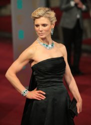 Emilia Fox arrives at the Baftas Awards Ceremony