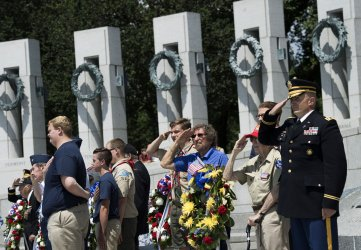 73rd anniversary of D-Day Ceremony in Washington, D.C.