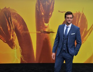"Jonathan Howard attends the ""Godzilla: King of the Monsters' premiere in Los Angeles"