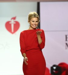 Niki Taylor at American Heart Association's Go Red For Women Show