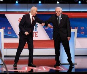 Joe Biden and Bernie Sanders Debate on CNN
