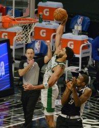 Boston Celtics'Celtics Defeat Clippers 119-115