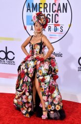 Cardi B attends 46th annual American Music Awards in Los Angeles