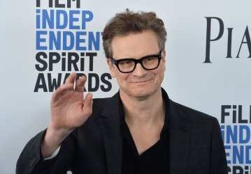 Colin Firth attends Film Independent Spirit Awards in Santa Monica, California
