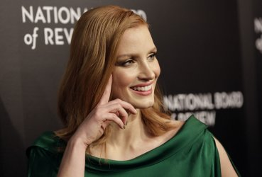 Jessica Chastain at the National Board of Review