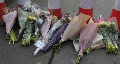 Flower tribute after London Terrorist attack