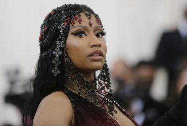 Nicki Minaj at the Met Gala in New York