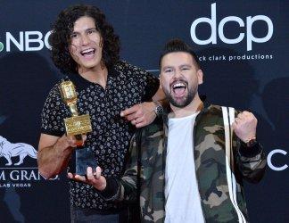 Dan + Shay wins Top Country Duo/Group award at the 2019 Billboard Music Awards in Las Vegas