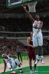 USA vs Venezuela Basketball at the 2016 Summer Olympics in Rio de Janeiro
