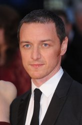 James McAvoy attends a screening of 'Suffragette' in London
