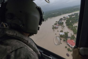 Flooding and Repairs in the Aftermath of Hurricane Harvey in Texas