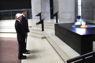 President Obama Visits Holocaust Museum in Washington