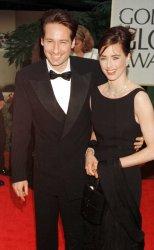David Duchovny and his wife Tea Leoni