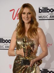 Singer Celine Dion recipient of the Icon Award at the Billboard Music Awards in Las Vegas